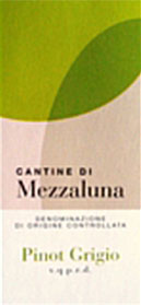 Pinot Grigio Mezzaluna