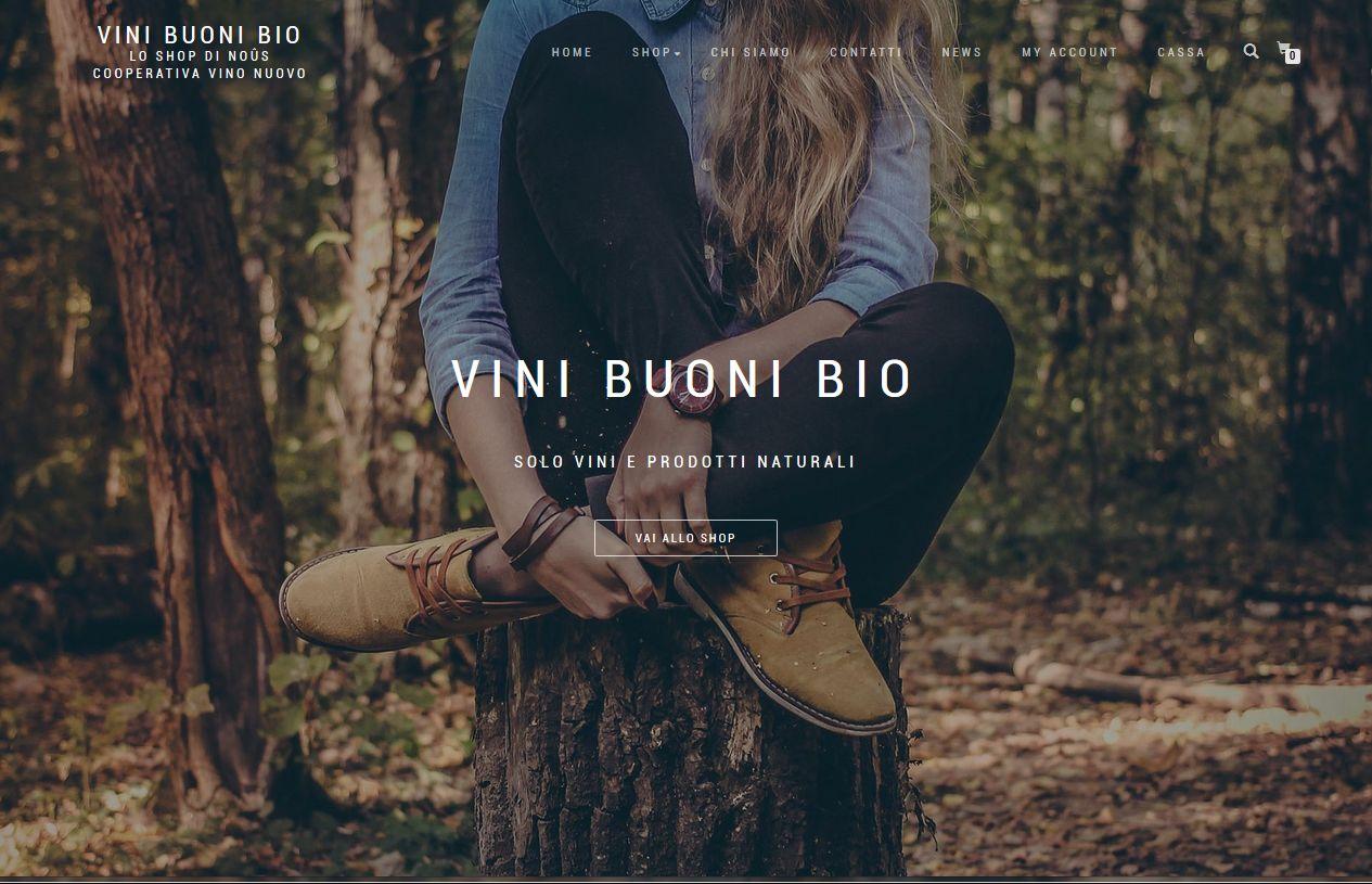 Shop Online NOUS Cooperativa Vino Nuovo